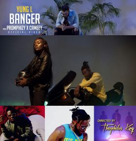 New Video:  Yung L ft. Promphizy and Cameey – Banger
