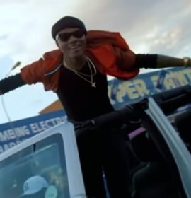 Is Wizkid an upcoming artiste in America? This Gospel artiste thinks so