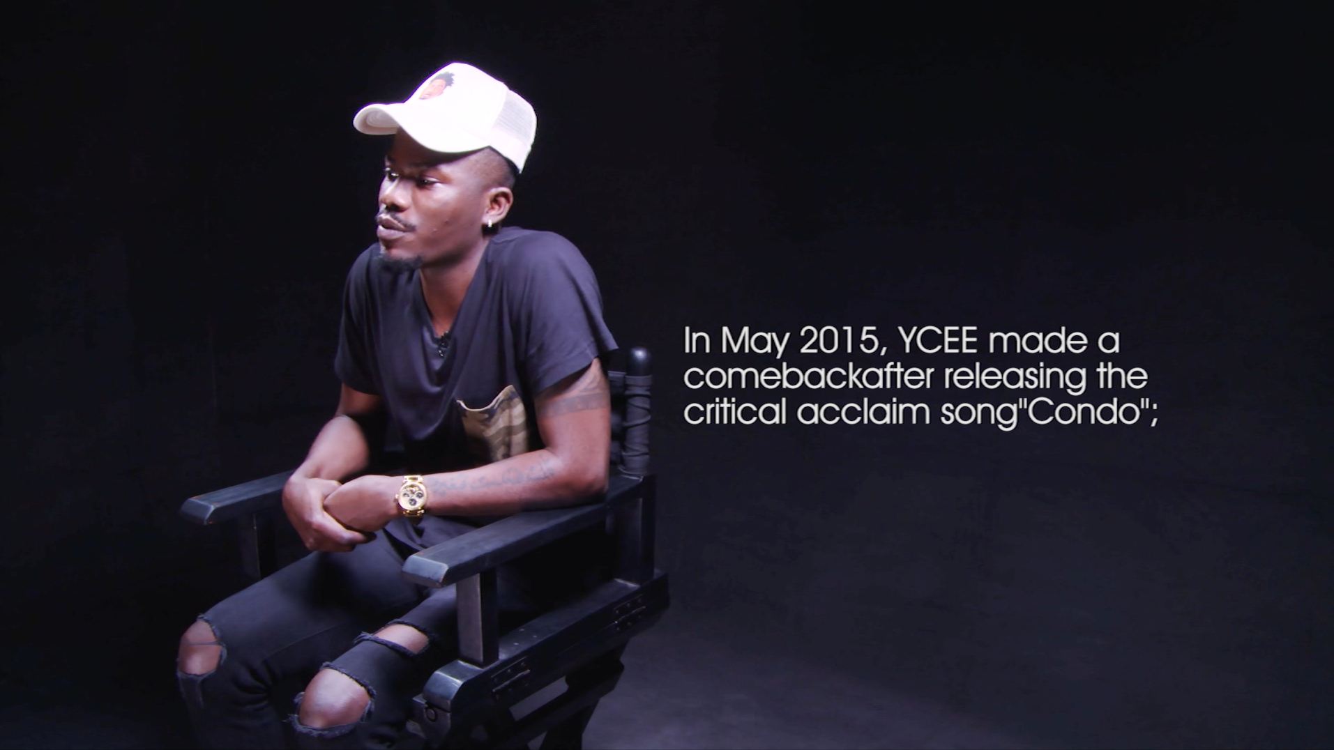 'I think Weezy (Lil Wayne) is the Greatest Rapper Alive' – YCEE on #SoundcityStarHost.