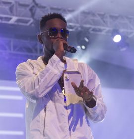 Patoranking Performed alongside Lil Wayne, Lauryn Hill & Meek Mill at the Tidal X Concert