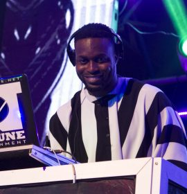 Listen and learn lyrics to DJ Neptune's 'Tear Rubber' Remix feat. Mayorkun, Mr Eazi, Duncan Mighty & Afro B –