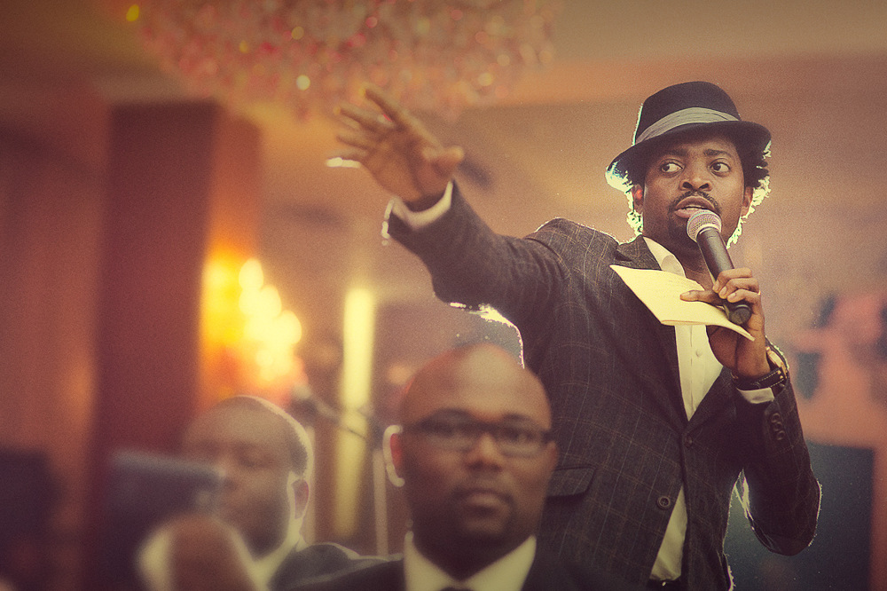 Basketmouth On Stage