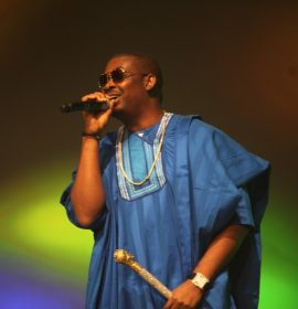 Don Jazzy to D'Banj as he welcomes new born: I Dey Come Chop Rice