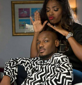 2baba breaks down in tears as his wife and baby mama make peace