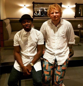 Fuse ODG Celebrates After Winning Grammys alongside Ed Sheeran