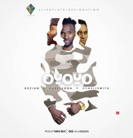 Dezign teases monster remix for 'Oyoyo' feat. Harrysong and HumbleSmith