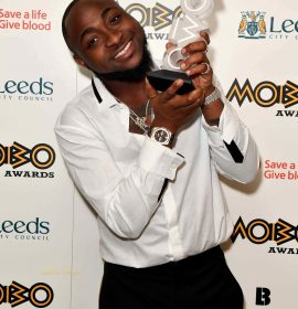 Two of Nigeria's finest music exports, Wizkid and Davido win big at 2017 #MOBOAwards