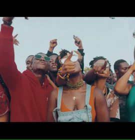 Ghana's Ebony has unveiled the visuals to her new single 'Hustle' ft. Brella
