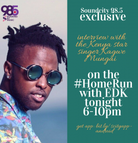 EDK and Kenyan star Kagwe Mungai on working with Sauti Sol, Niniola more!