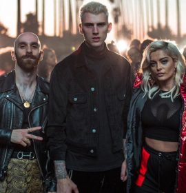 "Machine Gun Kelly, Bebe Rexha, and X Ambassadors head ""Home"" for Thanksgiving 