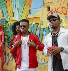 "Humblesmith and Olamide shoot video for ""Abakaliki To Lasgidi"" with Clarence Peters"