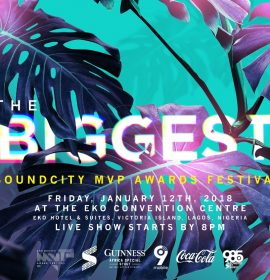 Buy your ticket to #SoundcityMVP Awards Festival now!