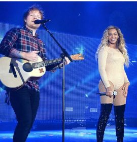 'I found a man stronger than anyone I know'! Go listen to Ed Sheeran & Beyoncé's 'Perfect Duet'