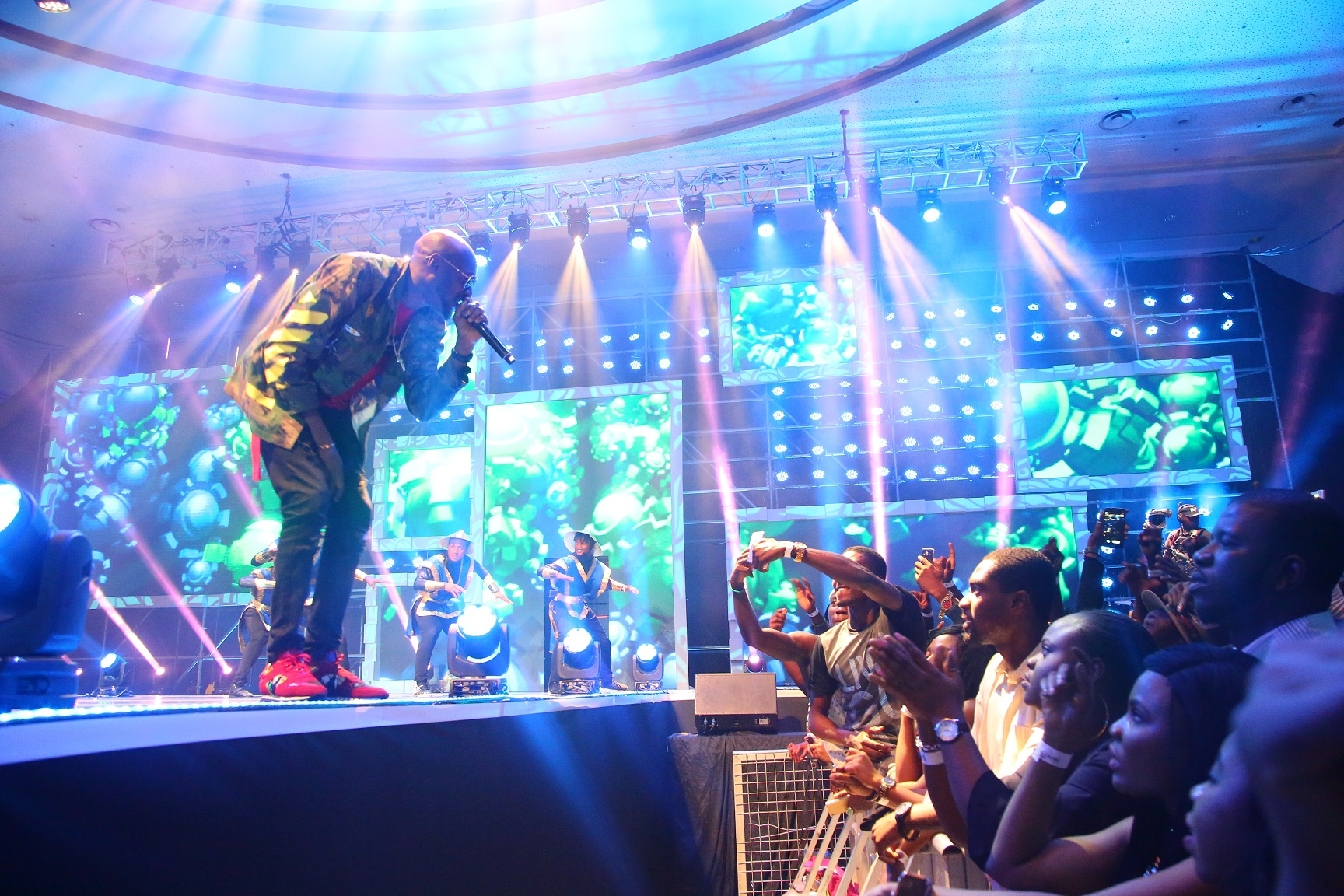 2baba Idibia at the #SoundcityMVP: 'Stop the killings in Benue!'
