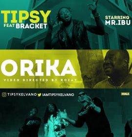 Tipsy Kelvano brings the Bracket duo and Mr. Ibu to the 'Orika' party!