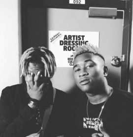 Distruction Boyz win their first award at Soundcity MVP Awards Festival for 'Best Duo'!