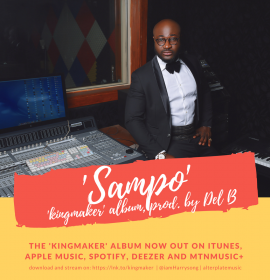 Stream the Harrysong's latest 'Kingmaker' album ahead of 'Kingmaker' concert!
