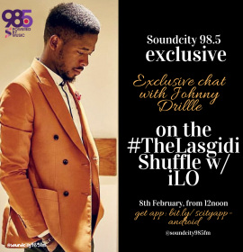 Listen to Johnny Drille on 'The LasGidi Shuffle' with Ilo | Podcast