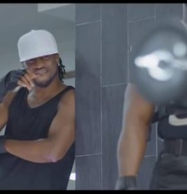 Rudeboy (of the P-Square) with the Birthday gift, Listen to 'Chizoba'