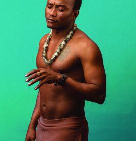 The sampling of nearly naked celebrities put quite a bit of themselves on display? Case Study Brymo!