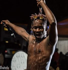 Mr Eazi parties with Nairobans at his concert Over The Weekend but… | Read