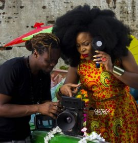 Omawumi is electrifying in video for 'Me Ke' with Kizz Daniel