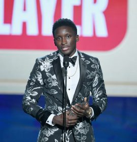 Victor Oladipo is the Most Improved Player at the NBA Awards