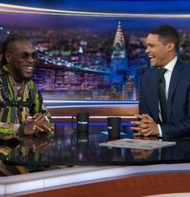 Burnaboy tells Trevor Noah about the 'African Giant' episode to Coachella
