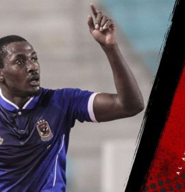 Super Eagles striker Junior Ajayi extends contract with Egyptian side Al Ahly