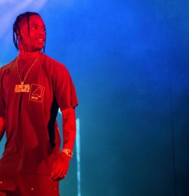 Travis Scott Wins Red Carpet Advocacy Award For HBCU Philanthropy Efforts