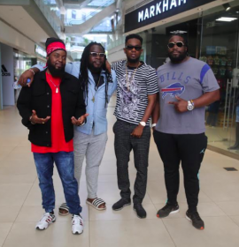 Watch Grammy winning Morgan Heritage in 'Pay Attention' video feat. Patoranking