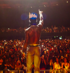 On the Road to 'African Giant the Album,' Burna Boy takes AfroPunk 2019 by Storm