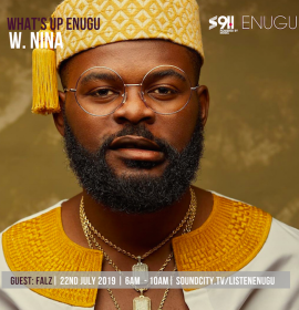 Falz talks The Lion King; Music v. Movies; Actress as Babymama on 'What's Up Enugu' with Nina