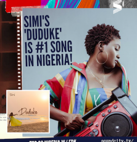 Simi's 'Duduke' reigns, 'Something Different' follows on the Top 20 Nigeria Radio chart show – Listen to the Show here