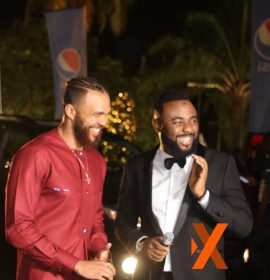 Jidenna tells VJ Adams his favourite 'body' part on the Soundcity MVP red carpet