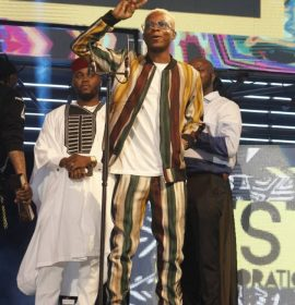 Soundcity MVP: Terri picks up Plaque as 'Soco' wins for Best Collaboration