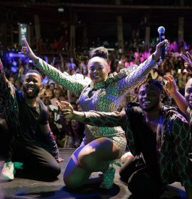 Yemi Alade sells out Mayotte Concert