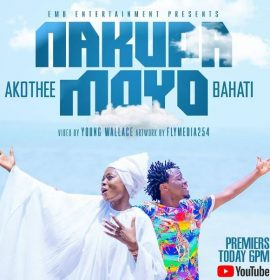 Bahati enlists controversial singer Akothee on a new gospel song 'Nakupa Moyo'