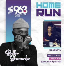 Crayon tells Blessing his story on 'Home Run Abuja': 'My Dad use to sell CDs'