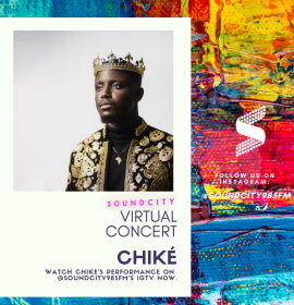 Ckay, Chike perform for Soundcity Virtual Concert