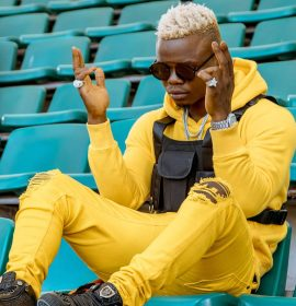 Harmonize takes his fans through his life struggles in new jam 'Never Give Up'
