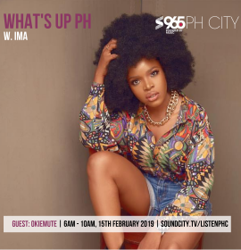 Okiemute and IMA choppin' it up on 'What's Up PH'