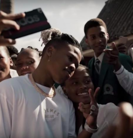 Watch Nasty C in 'Strings and Bling' music video