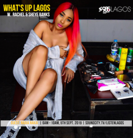 Nadia Nakai speaks on Xenophobia on 'What's Up Lagos'