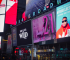 Duncan Daniel's Afro-eclectic Album premiers on the Billboard in time square