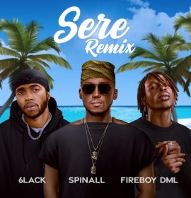"DJ Spinall Features 6lack on ""Sere"" Remix"