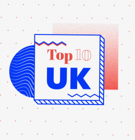 Craig David returns to the top of the chart with Clean Bandit & Ariana Grande | Soundcity Top 10 UK