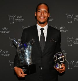 Does Virgil van Dijk deserve the UEFA Men's Player of the Year win?