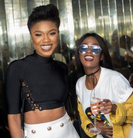 Exclusive images from Becca's 'Unveiling' album listening party