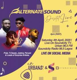 Digitally Live feat. Joeboy, Peruzzi, T-Classic and Praiz